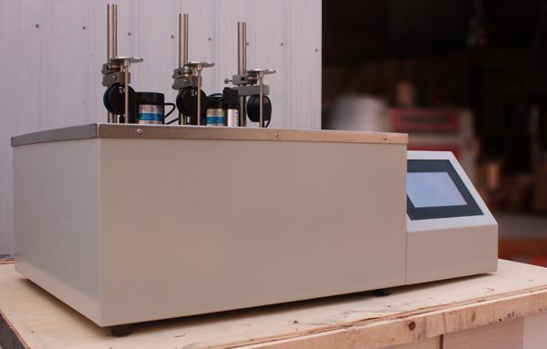 JL-XRW-300E型电脑触摸屏双控制热变形维卡软化点温度测定仪